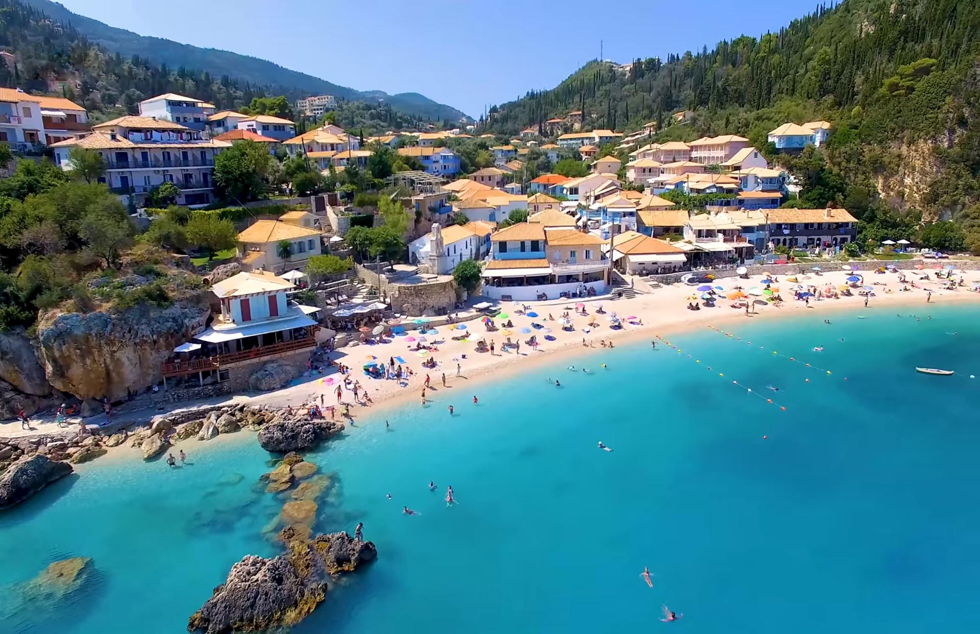 The Victoria Lefkada Agios Nikitas Beach