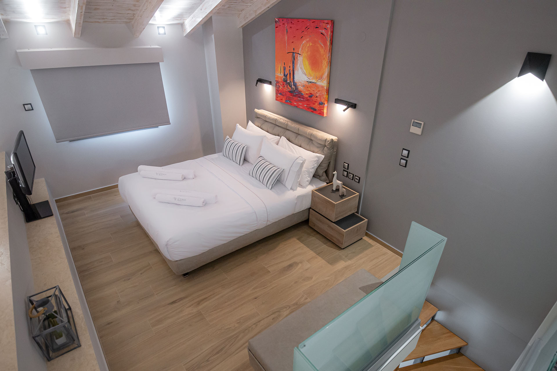 The Victoria Lefkada Two Bedroom Lofts 17